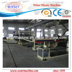 PVC Wide Floor Leather, Waterproof Rolls Extrusion Line pictures & photos