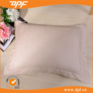 100% Cotton Solid Color Jacquard Pillow Case (DPF201508) pictures & photos
