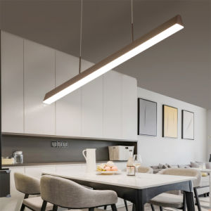 W75*H75 Architectural LED Linear Suspension Light Fixture