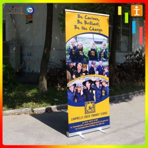 Display Roll up Banner Design Pull up Banner Scrolling Roll up Banner pictures & photos