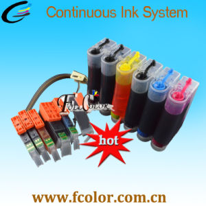 6 Color CISS for Canon Pixma Ts9020 Ts8020 Printer Ink System