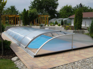 Uv Protected Polycarbonate Pc Hollow Sheet For Outdoor Swimming Pool Cover