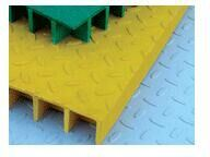 FRP/GRP Pultruded Gratings, Fiberglass Pultrusion Grating pictures & photos