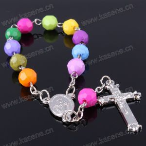 Honest Suppliers Cheapest Promotion Custom Plastic Chain Catholic Bracelet