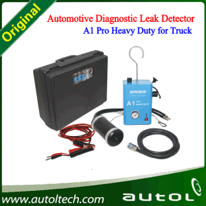 New Product Automotive Leak Detector Smoke A1 PRO Heavy Duty New Generation of All-100 Work for 12V/24V Trucks pictures & photos