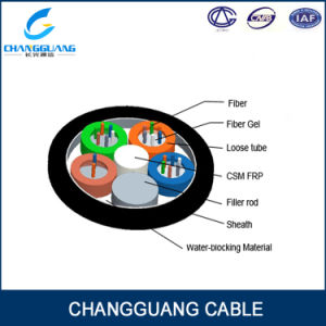 High Quality GYFTY 12/72core G652D Fiber Optic Cable for Duct