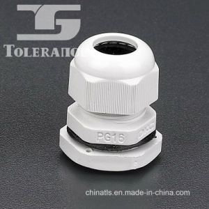 White Nylon Material Pg Type Cable Gland