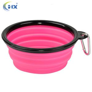 BPA Free Collaspible Silicone Dog Bowl