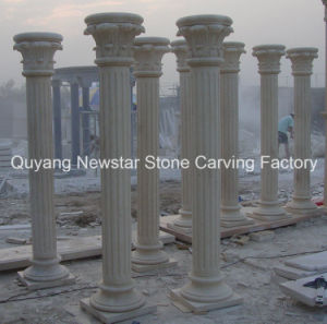 Building Material Handcraft Stone Granite Columns for Home Decoration pictures & photos