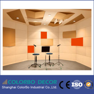 Sound Insulation Polyester Fiber Acoustic Wall Board pictures & photos