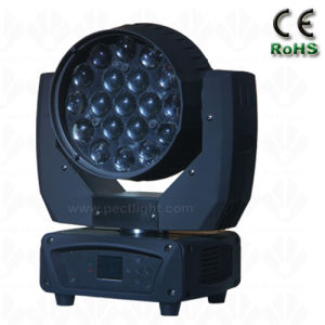 China 19*12W RGB LED Moving Head Light with Beam Zoom Wash pictures & photos