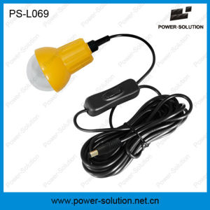 Mini Qualified 4500mAh/6V Solar Lantern with Mobile Phone Charger and Bulb for Room (PS-L069) pictures & photos