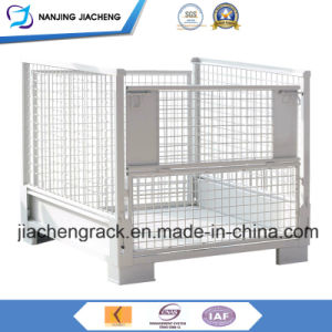 Collapsible Wire Mesh Steel Pallet Basket Container with High Quality pictures & photos
