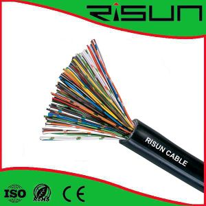 (2pair, 4pair, 6pair, 10pair, 15pair, 25pair, 50pairs, 100pair Unshield Telephone Cable pictures & photos