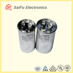 High Power 130UF Aluminum AC Run Capacitor Cbb65 pictures & photos