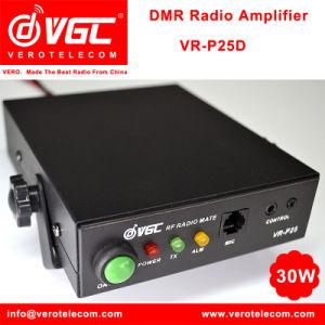 2017 Launch 30W IP67 High Power UHF Encryption Digital/Analog Modes Dmr Two  Way Radio Amplifier Vr-P25D