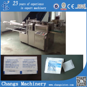 Zmj Series Custom 70 Medical Alcohol Wipes Packaging Machine Manufacturer pictures & photos