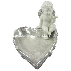 Angel Shape Ceramic Candle Holders pictures & photos