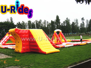 Floating Inflatable Water Game Water Park on Sea pictures & photos