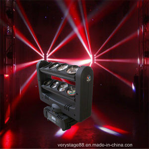 8*10W RGBW Quad in 1 CREE LED Spider Beam Moving Head Light pictures & photos