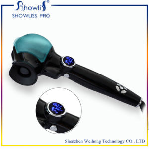 Birthday Gift Automatic Hair Curler Showliss PRO LCD Hair Curler