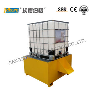 China Ibc Tank Spill Pallet With Galvanized Steel Grating Pibc 1g