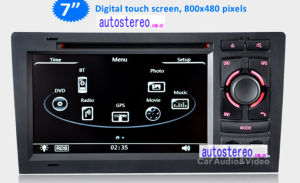 Car GPS Navigation for Audi A8 Car DVD Car Stereo