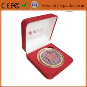 Medal Presentation Boxes, Leatherette and Customized Logo