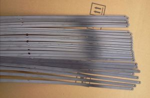 Flat Steel with Pet Coating for Car Wipers pictures & photos