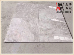 China Natural Marble Grey Color High Quality Building Material Asher Blue Grey Marble Slabs