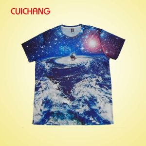 Colorful T-Shirt Custom Design Sublimation Fashion T-Shirt