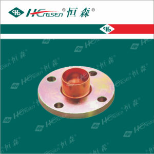 Copper Steel Flange (RED) /Pipe Fittings pictures & photos