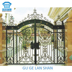 High Quality Crafted Wrought Iron Gate 031 pictures & photos
