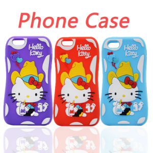online retailer 47efa 5af56 Small Pretty Waist Kity Silicone Case iPhone 6s/6plus Cell Phone  Accessories (XSK-021)