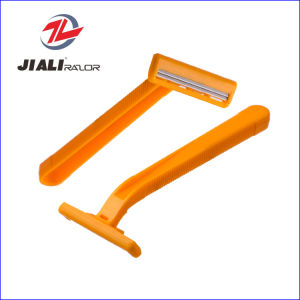 Twin Blade Disposable Shaving Razor Blade for Europe USA South America Middle East (SL-3011) pictures & photos