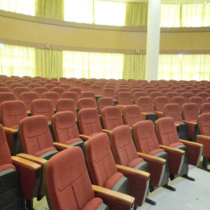 Church Chair Auditorium Seat, Push Back Auditorium Chair, Plastic Auditorium Seat, Auditorium Seating, Conference Hall Chairs (R-6154) pictures & photos
