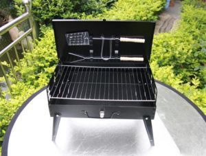 with 8 Year′s Experience Camping Portable Charcoal Box Barbecue Grill pictures & photos