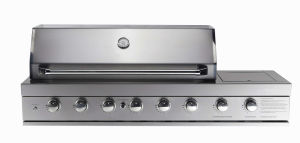 6burner Built in Stainless Steel BBQ Grill with Side Burner pictures & photos
