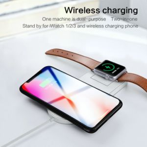 10W Fast Wireless Charging Pad Wireless Phone Charger for Apple Watch  iPhone 8/8plus/X for Samsung