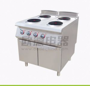 Commercial Kitchen 900# Four Burners Electric Cooking Range
