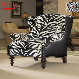 Pvc Leather With Tiger Pattern