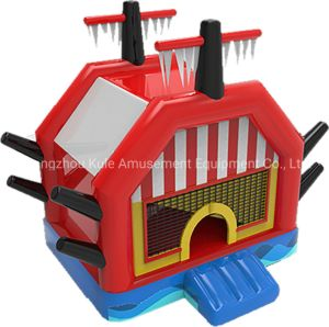 Gunboat Inflatable Jumping Castle Small Inflatable Bouncy Castle