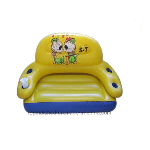 PVC Cheap Durable Clear Inflatable Chair Kids Sofa pictures & photos