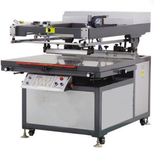 Slanting Glass Screen Printing Machine
