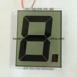 Customerized Stn Yellow Negative Customized LCD Display pictures & photos
