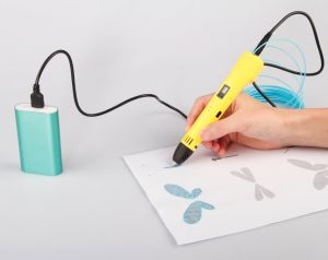 3D Printing Pen for 3D Drawing and Doodling - Kids and Adults - 1.75mm ABS/PLA Filament pictures & photos