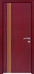 PVC Interior Door MDF PVC Door (PVC door) pictures & photos