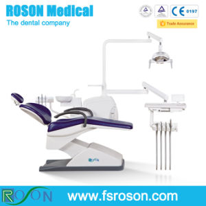 New Design Dental Chair Unit with LED Sensor Dental Lamp