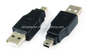 USB2.0 a Male to Mini 5pin Adapter pictures & photos