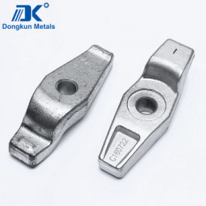 Steel Forged Container Parts with Zinc Plating pictures & photos